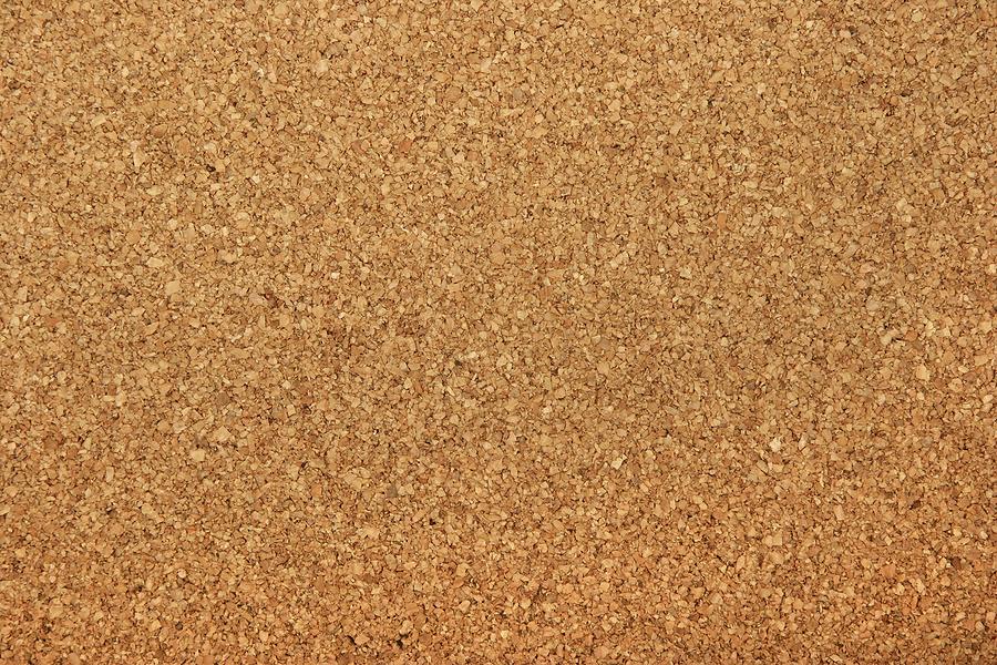 using cork filler board